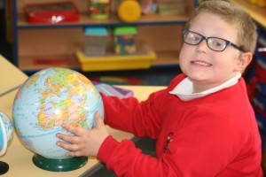 Learning all about our world.