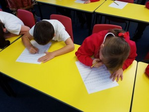 Learning to join up our handwriting